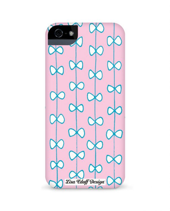 pink bows_iphon5